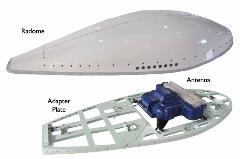 AeroShield Radome Antenna and Plate ISO text