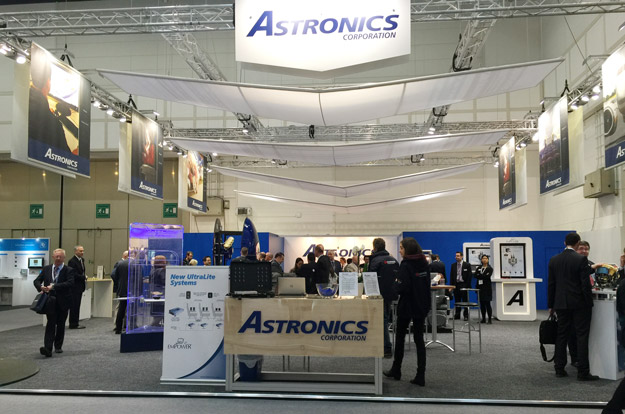 Astronics booth