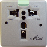 110 Volt AC Outlet Unit