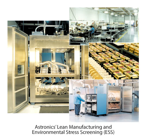 Astronics' Lean Manufacturing and Environmental Stress Screening (ESS)