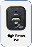 High Power USB Outlet Unit