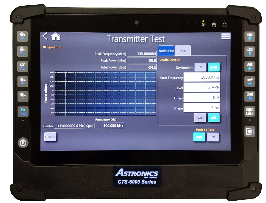 CTS 6000 Communications Test Set Includes 12+ Instruments
