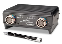 webCS with integral wireless and cellular antenna array